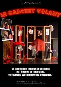 Affiche Cabaret Volant